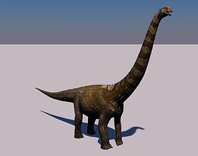 3D model Puertasaurus Dinosaur Animated