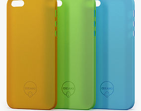 3D model Case Ozaki Jelly for iPhone 5