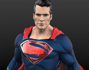 3D print model Superman from Man of steel