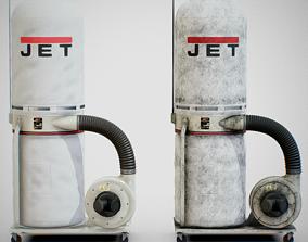 3D model Sawdust Collector - JET 01