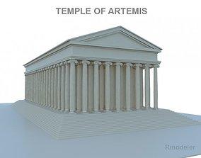 Artemis Temple 3D model