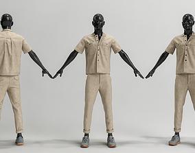 Male Cloth 002 3D model