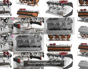 3D model Astoria coffee machines