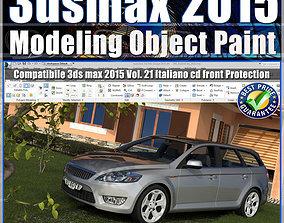 3ds max 2015 Object Paint vol 21 cd front paint