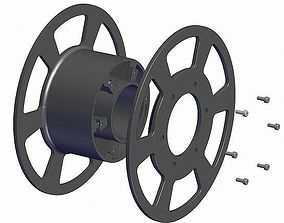 house Reel for 3d printer and fishing line