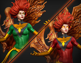 3D printable model Jean and Dark Phoenix