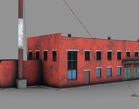 Water intake facilities 3D model