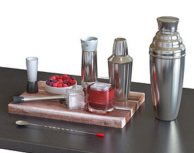 3D model Cocktail Set - HOMEWETBAR Giant Ext Large