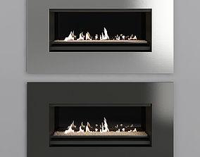 3D model Fireplace Modern 21