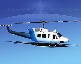 Bell 212 V24 Unmarked 3D
