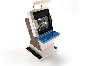 3D model Classic Arcade Machine