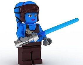 LEGO Minfigure Aayala Secura 3D model