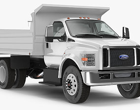 3D Ford F 650 2019 Tip Truck