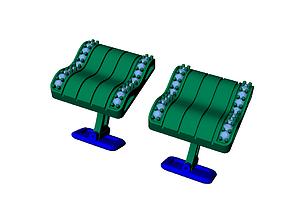 CUFFLINK-2 3D printable model