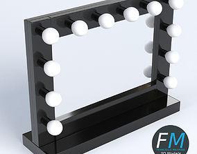 Makeup mirror 2 3D model