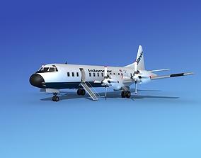 Lockheed L-188 Electra HP Islander 3D model