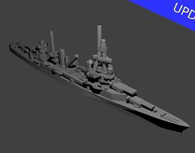 US Pensacola Class Cruiser Warship 3D print model