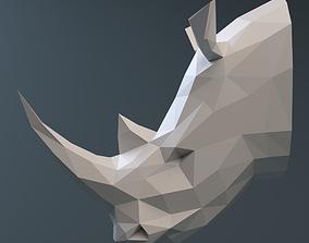 3D print model Rhinoceros head