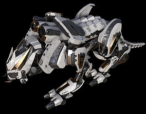 Iron tiger 3D model