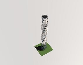 Skyscraper 3D polygonal