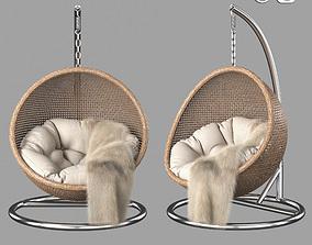 3D model Rattan Hanging Chair