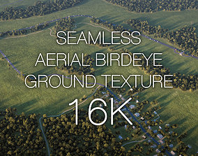 Aerial Birdeye Seamless Ground 16K 3D model