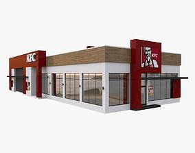 3D model KFC Drive Thru