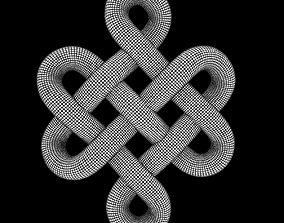 3D model endless knot