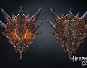 3D print model Monster Hunter World - Halberion Blade - 1