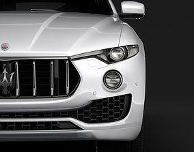 3D Maserati Levante 2018