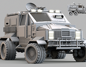 Military Infantry Transport Vehicle 3D