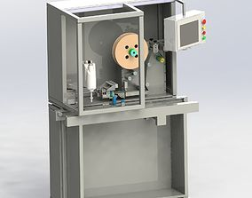 Manipulator labeling machine 3D model