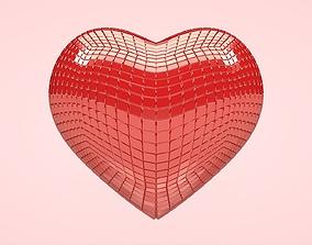 3D model Heart - Disco Heart