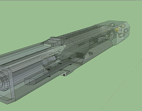 Dreadnought with Interior 3D model