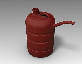 3D model VR / AR ready Oil can