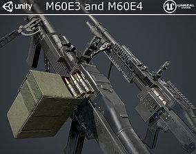 M60E3 and M60E4 3D asset