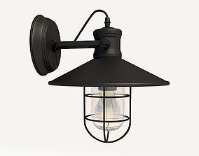 Sconce Antique Industrial 3D