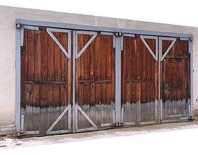 Garage doors old scan 3D model