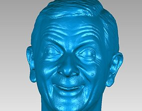 Mr Bean Head 3D Scan