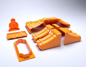 Forms for pouring concrete parts 3D printable model