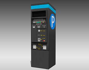 3D model Digital Parking Meter