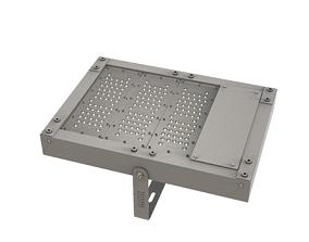 Outdoor industrial Lighting Module 10 3D