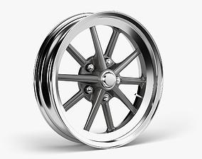 3D asset ET Gasser Wheel