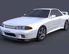 3D Nissan Skyline GTR R32 automotive