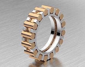 3D print model Compound man ring