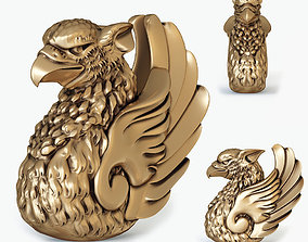 Griffin bust for 3D printing
