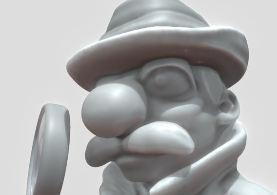 Inspector High-Poly Version 1