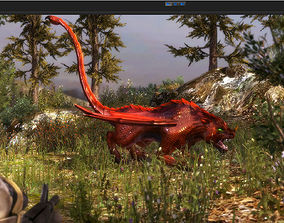 animated 3Dfoin - Manticore