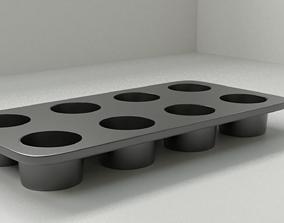 3D model Muffin Tin Pan 1