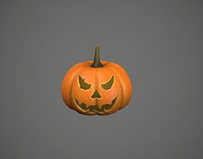 Jack-O-Lantern - Pumpkin 3D asset